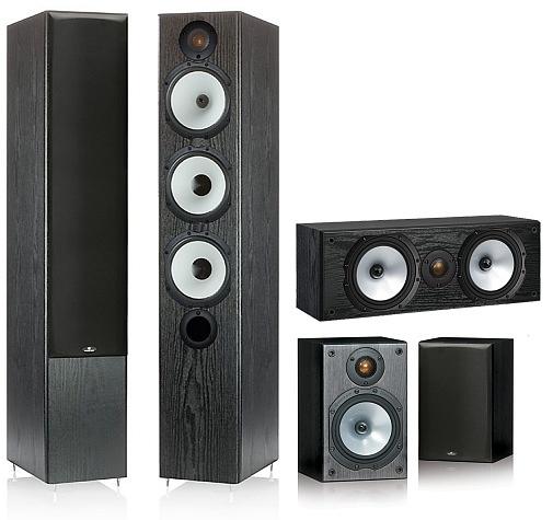Monitor Audio MR6, MR1, MR Center Zestaw 5.0