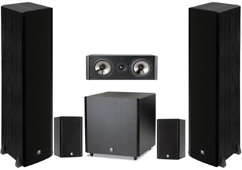 Boston Acoustics Zestaw Głośnikowy 5.1 CS 260/23/225/SUB10