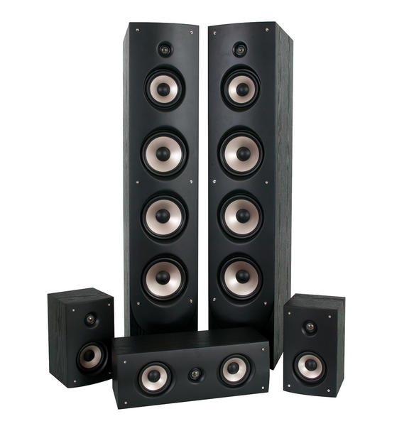 Eltax MONACO HCP Zestaw kolumn głośnikowych 5.0
