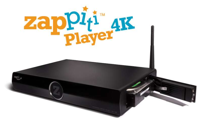 ZAPPITI 4K PLAYER