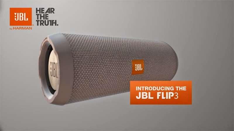 JBL FLIP 3 głośnik bezprzewodowy