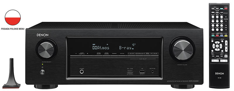 DENON AVR-X1300W Amplituner 7.2 Wysyłka gratis!!