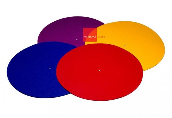 REGA kolorowe maty gramofonowe