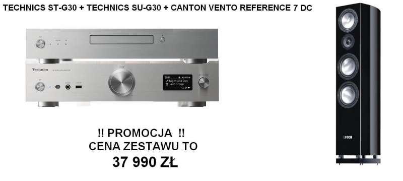 Technics ST-G30 + SU-G30 + Canton Vento Reference 7 DC  Promocja !!