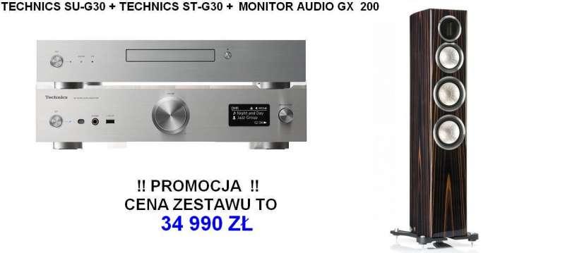 technics st g30 su g30 monitor audio gx 200. Black Bedroom Furniture Sets. Home Design Ideas