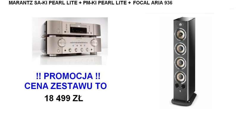 Marantz Ki-Pearl Lite set +  Focal Aria 936
