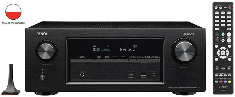 Denon AVR-X2400H amplituner kinowy