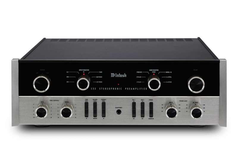 McIntosh C22 + MC75 zestaw stereo