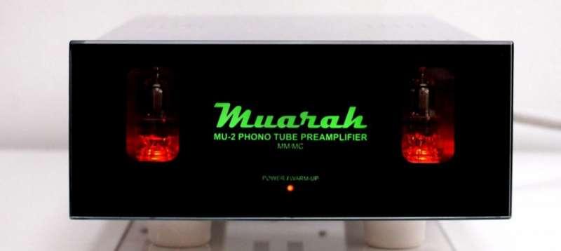 Muarah MU-2 Przedwzmacniacz gramofonowy.