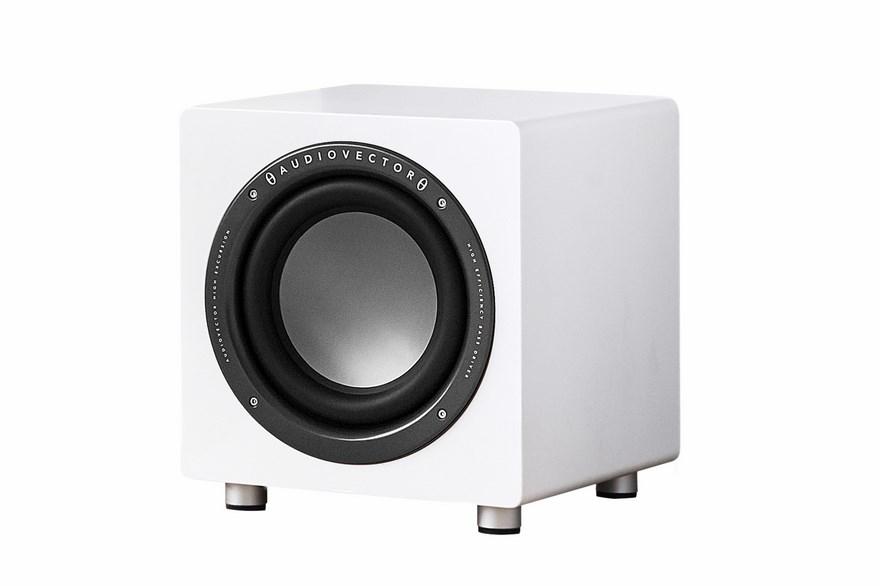 Audiovector  QR SUB biały sztuka