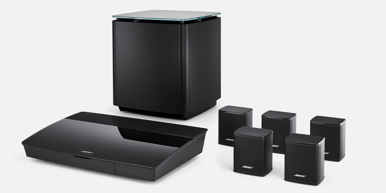 Bose Lifestyle 550 czarny | Autoryzowany Dealer