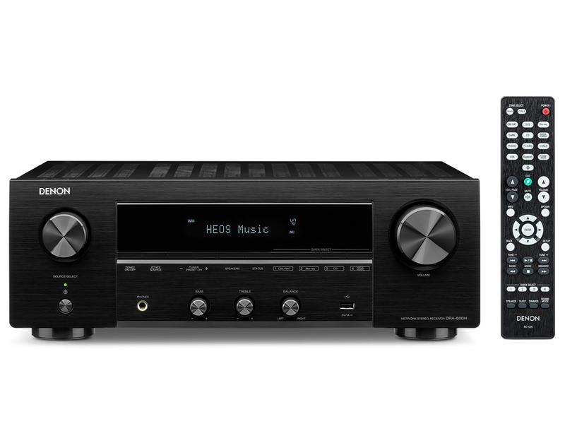 Denon DRA-800H | Amplituner stereofoniczny | Czarny | Dostępne od ręki!