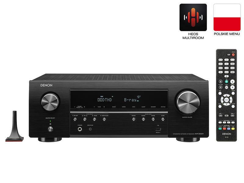 Denon AVR-S650H   Amplituner sieciowy 5.2 HD   Czarny