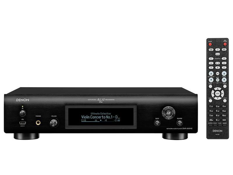 Denon DNP-800NE streamer czarny