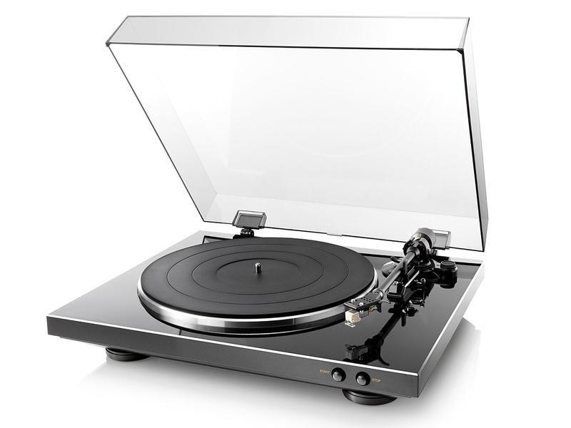 Denon DP-300F | Gramofon automatyczny analogowy | Czarny