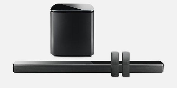 Bose Soundbar 700 + Bass Module 700 + Surround Speakers 700 czarny | Autoryzowany Dealer