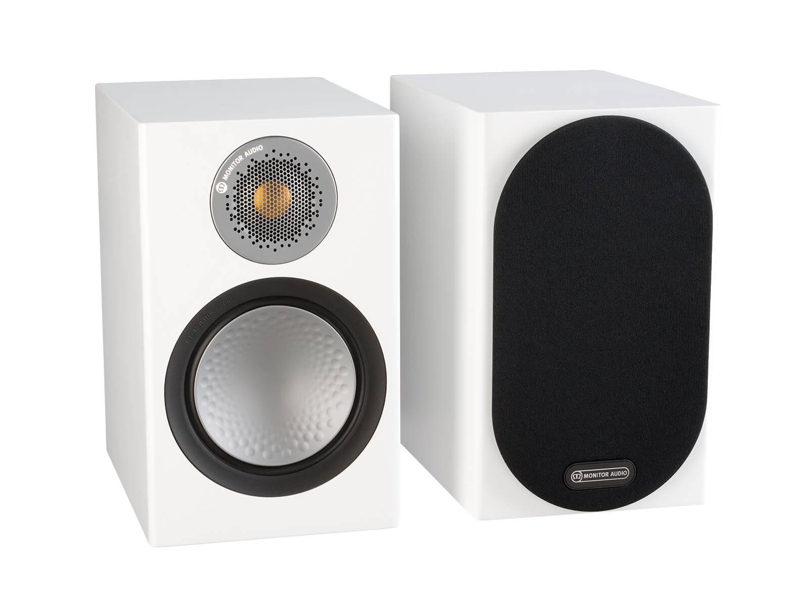 Monitor Audio 6G Silver 50 | Kolumny podstawkowe |  Biały