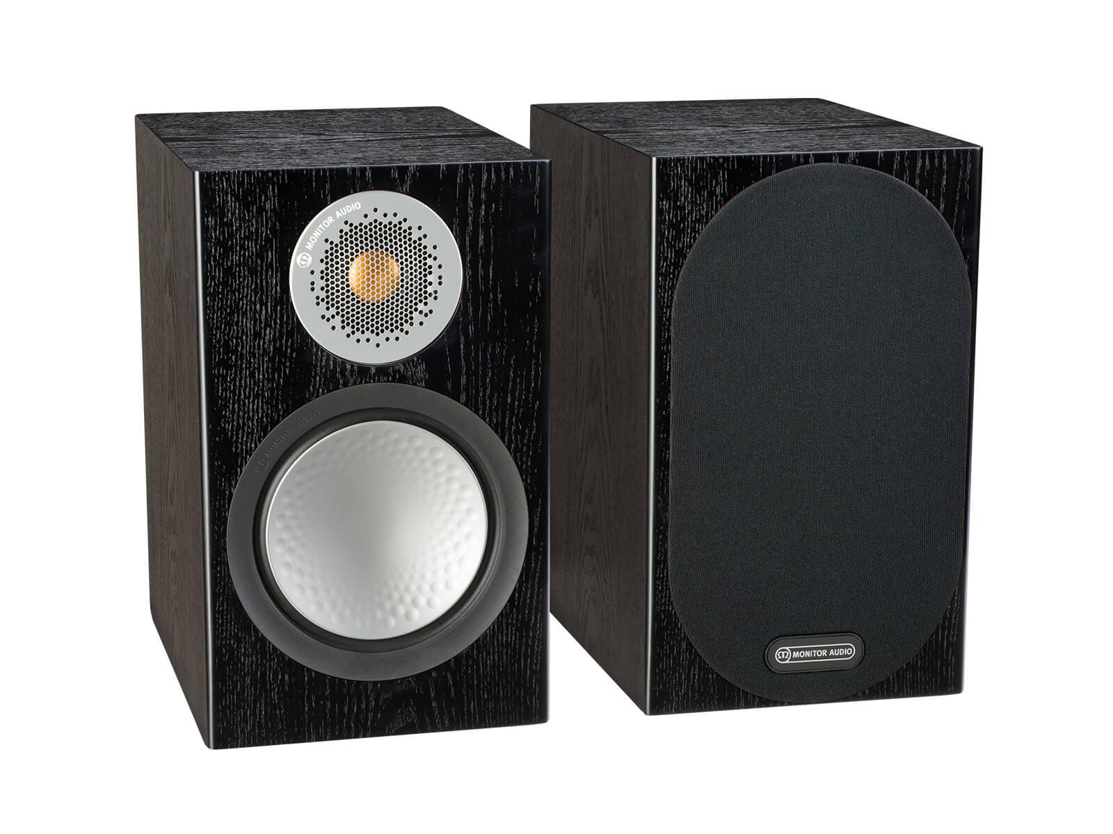 Monitor Audio 6G Silver 50 | Kolumny podstawkowe | Czarny dąb