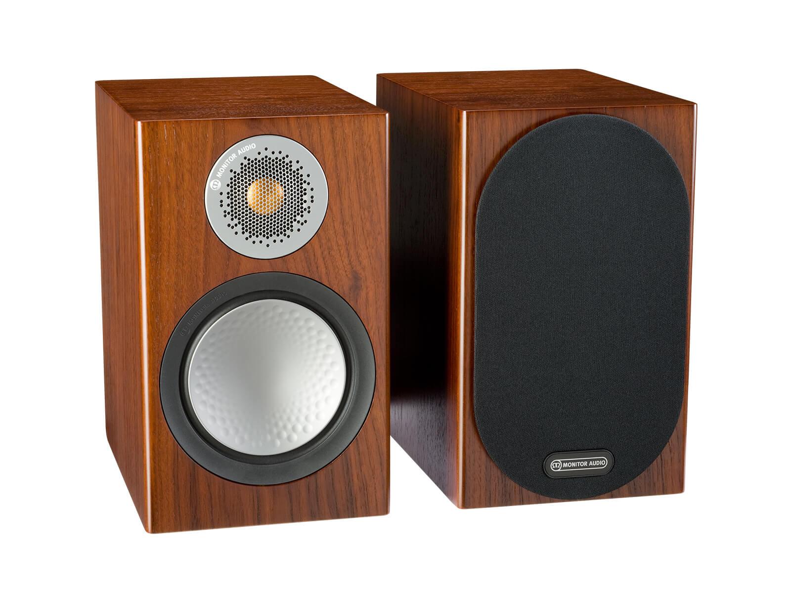 Monitor Audio 6G Silver 50 | Kolumny podstawkowe | Orzech