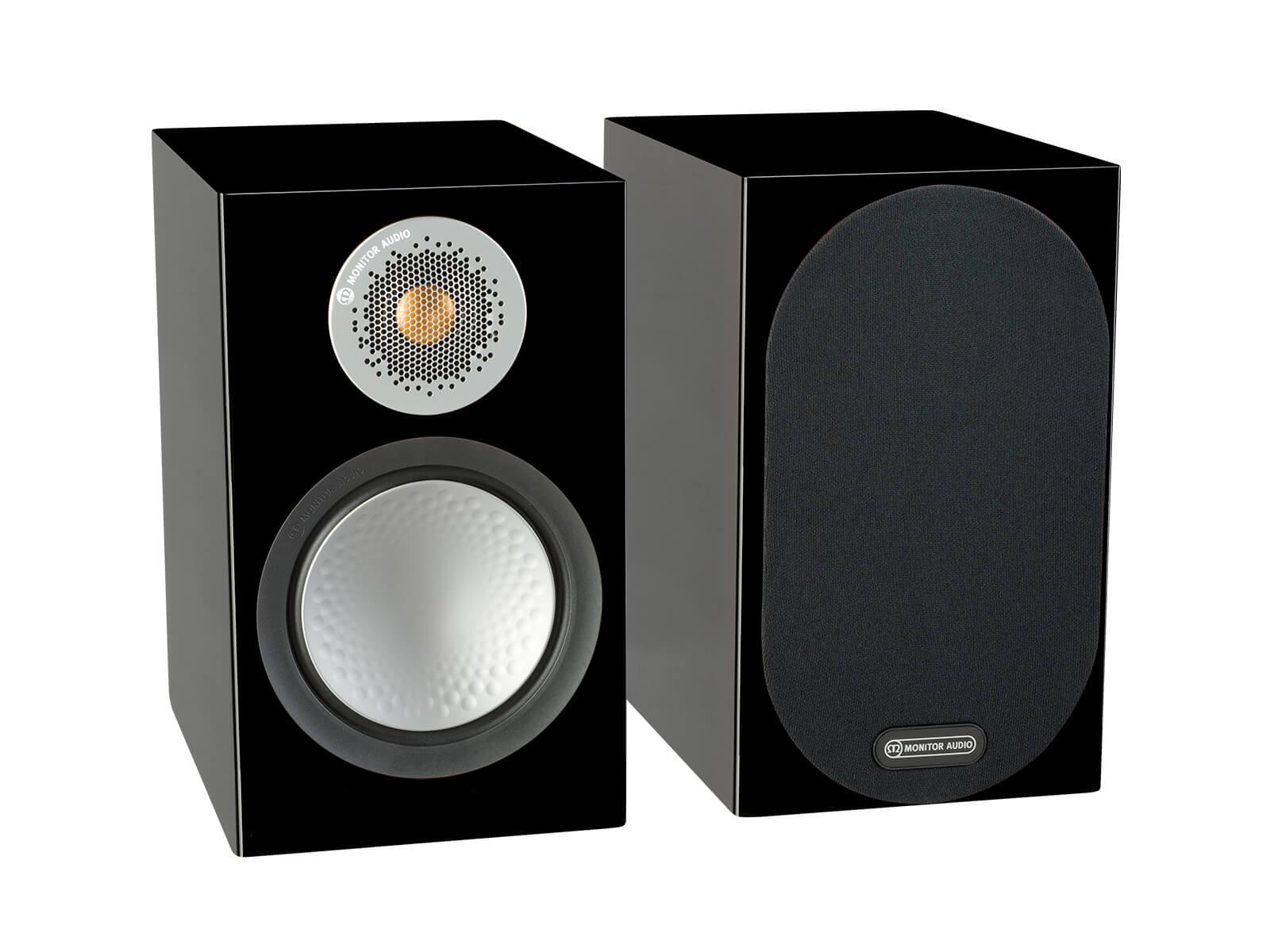 Monitor Audio 6G Silver 50 | Kolumny podstawkowe | Czarny