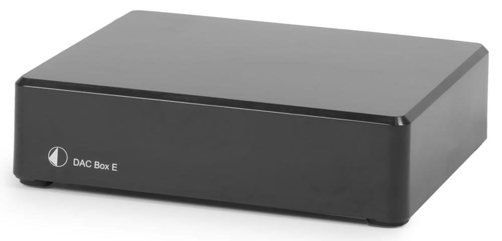 Pro-Ject DAC BOX E czarny | Przetwornik DAC