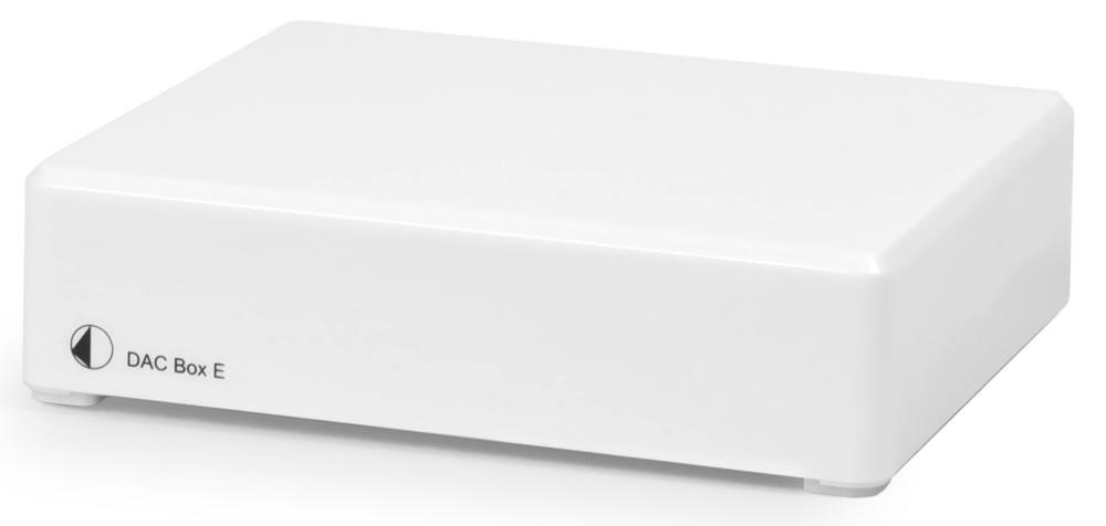 Pro-Ject DAC BOX E biały | Przetwornik DAC