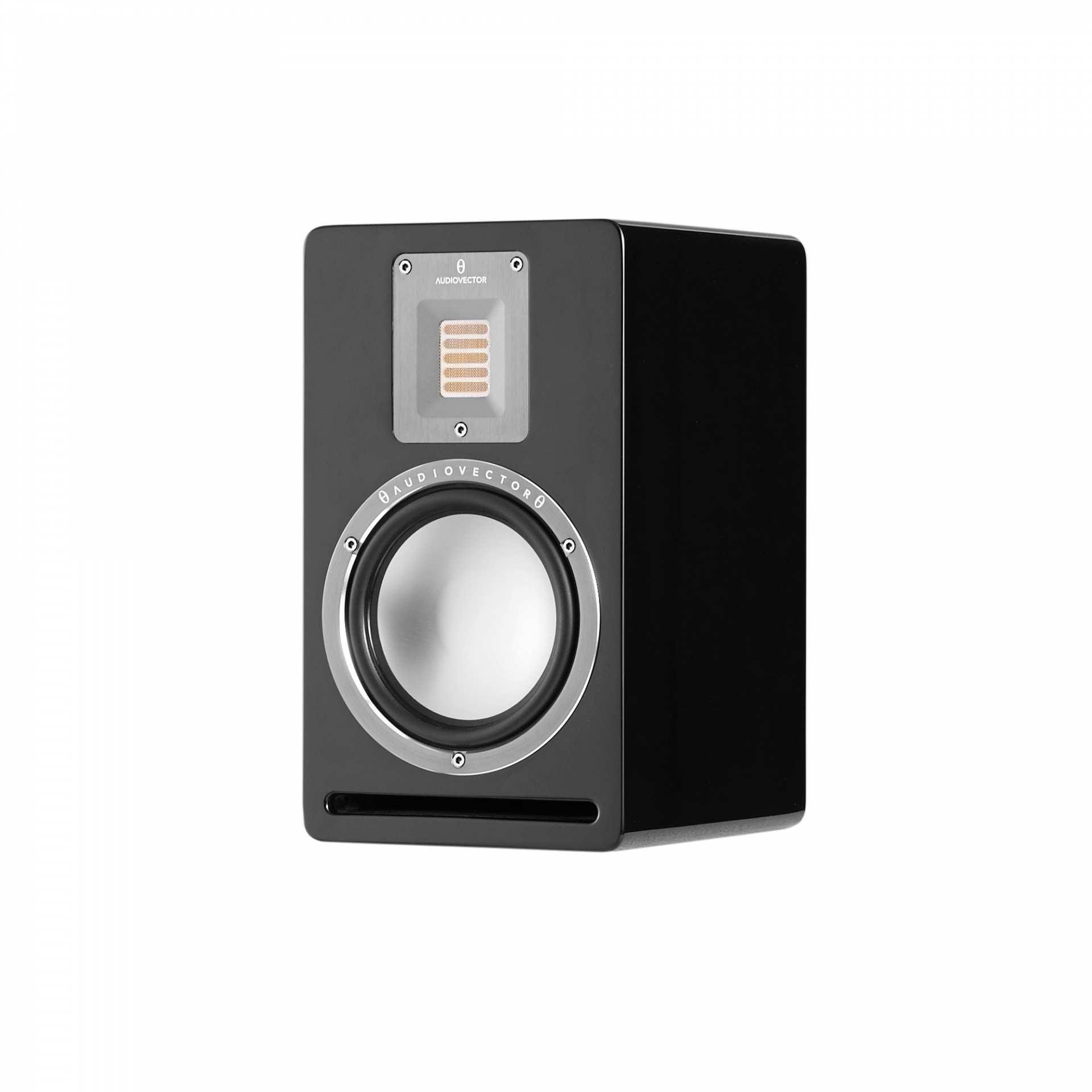 Audiovector QR 1 sztuka czarny połysk