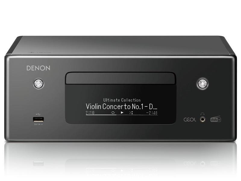 Denon RCDN-11 DAB | Amplituner stereofoniczny z CD | Czarny