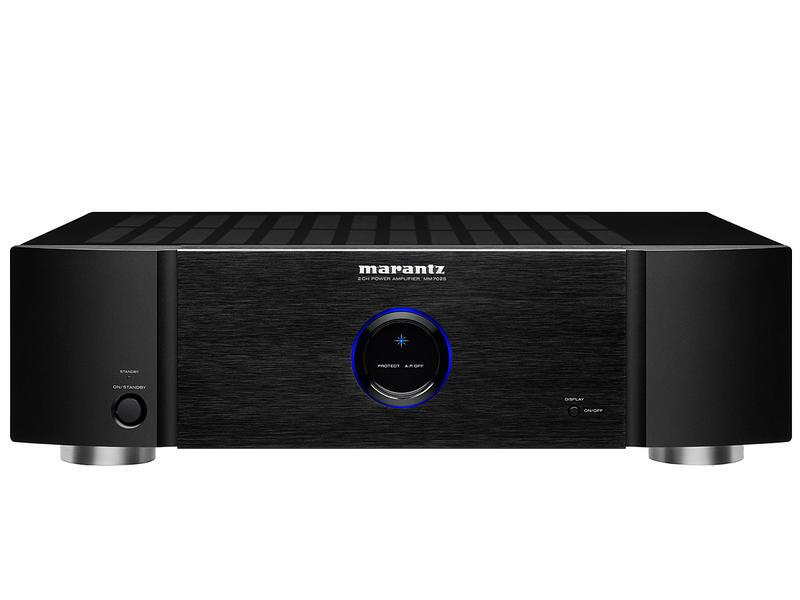Marantz  MM7025   Stereofoniczny wzmacniacz mocy   Czarny