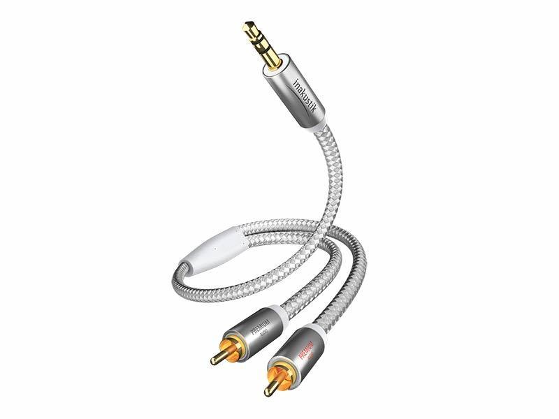 IN-AKUSTIK   PREMIUM MP3 JACK-RCA (3.0m)