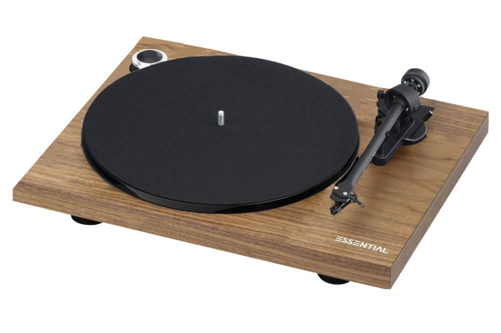 Pro-Ject ESSENTIAL III DIGITAL | Gramofon | Orzech