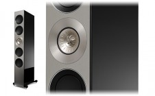 Kef REFERENCE 5 (piano black/walnut/rosewood)