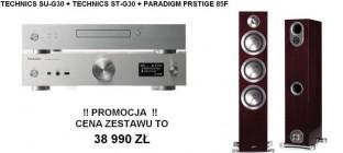 Technics ST-G30 + SU-G30 + Paradigm Prestige 85f  Promocja