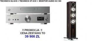 Technics ST-G30 + SU-G30 + MONITOR AUDIO GX 300