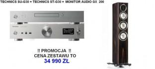 Technics ST-G30 + SU-G30 + MONITOR AUDIO GX 200