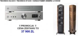 Technics ST-G30 + SU-G30 + KEF R700