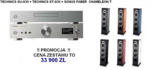 Technics ST-G30 + SU-G30 + SONUS FABER CHAMELEON T