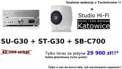 Technics SU-G30 + ST-G30 + SB-C700 zestaw promocyjny