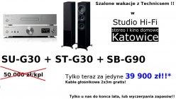 Technics SU-G30 + ST-G30 + SB-G90 zestaw promocyjny