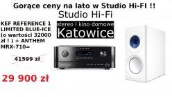 Kef Reference 1 + Anthem MRX-710 zestaw promocyjny
