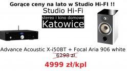 Advance Acoustic X-i50 BT + Focal Aria 906 zestaw promocyjny