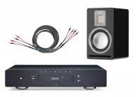 Primare I15 Prisma wzmacniacz + Cardas Iridium Speaker 3m + Audiovector QR1 kolumny Pakiet promocyjny czarny