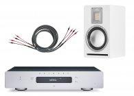Primare I15 Prisma wzmacniacz + Cardas Iridium Speaker 3m + Audiovector QR1 kolumny Pakiet promocyjny srebrny