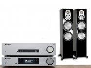 """Akcja """"Wiosna Radosna"""" Cambridge Audio CXA81 + CXNv2 + Monitor audio Silver 500"""