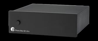 Pro-Ject PHONO BOX S2 ULTRA czarny przedwzmacniacz gramofonowy