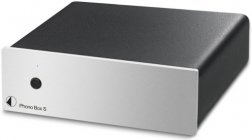 Pro-Ject PHONO BOX S srebrny przedwzmacniacz gramofonowy