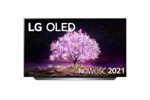 "LG 55""OLED55C1 biały telewizor  | OLED 4K Cinema HDR AI TV ze sztuczną inteligencją | OLED55C12LA"