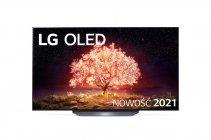 "LG 65""OLED65B1 telewizor  | OLED 4K Cinema HDR AI TV ze sztuczną inteligencją | OLED65B13LA"