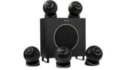Cabasse EOLE 4 5.1 system | Zestaw kolumn głośnikowych 5.1 | Czarny