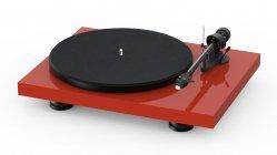 Pro-Ject Debut Carbon Evo | Gramofon analogowy | Czerwony